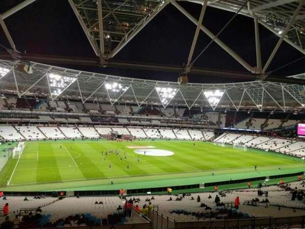 London Stadium, secção: 232, fila: 48, lugar: 541