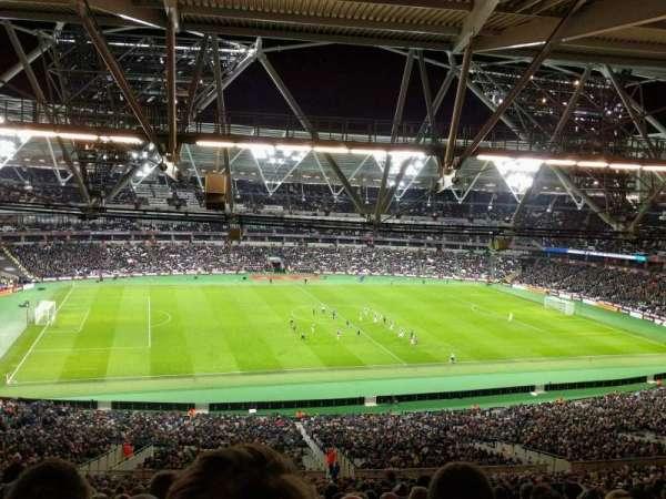 London Stadium, secção: 233, fila: 68, lugar: 511