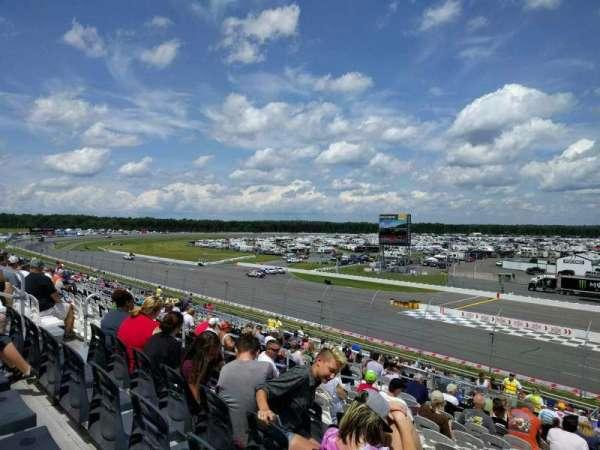 Pocono Raceway, secção: 238, fila: 41, lugar: 12