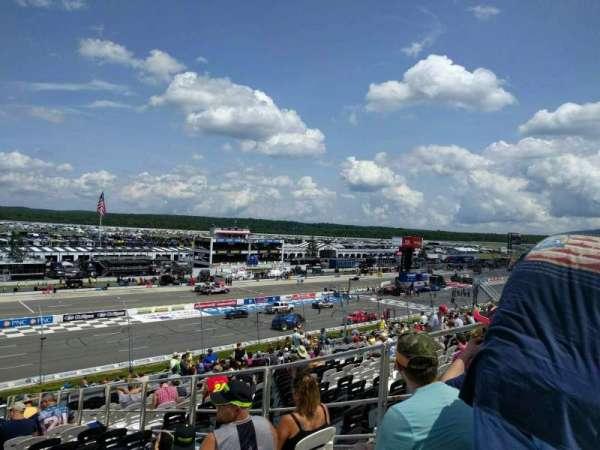 Pocono Raceway, secção: 232, fila: 40, lugar: 5