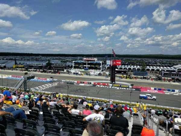 Pocono Raceway, secção: 232, fila: 44, lugar: 22