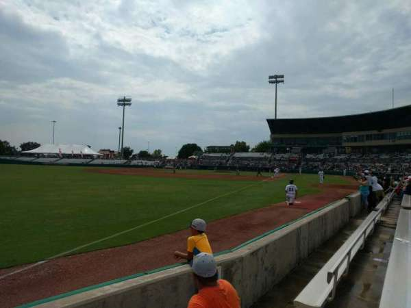 Nelson W. Wolff Municipal Stadium, secção: 121, fila: d, lugar: 6