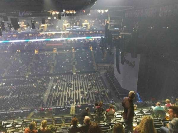 Nationwide Arena, secção: 202, fila: l, lugar: 13