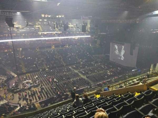 Nationwide Arena, secção: 205, fila: l, lugar: 12