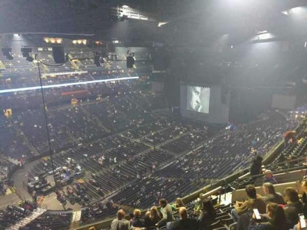 Nationwide Arena, secção: 206, fila: l, lugar: 14