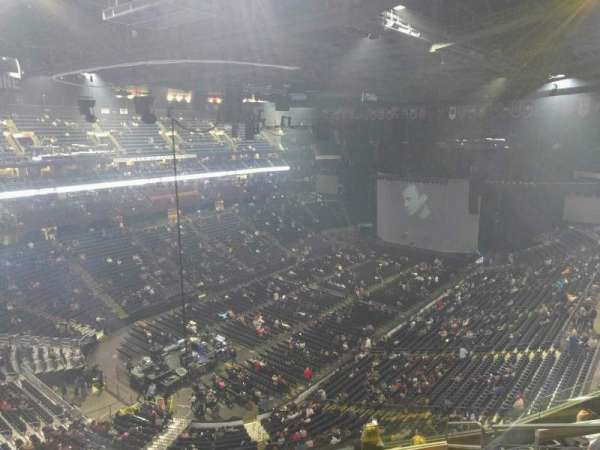 Nationwide Arena, secção: 207, fila: h, lugar: 7