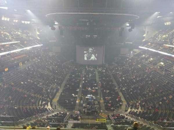 Nationwide Arena, secção: 210, fila: h, lugar: 9