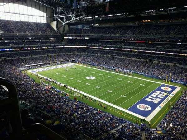 Lucas Oil Stadium, secção: 507, fila: 5w, lugar: 12
