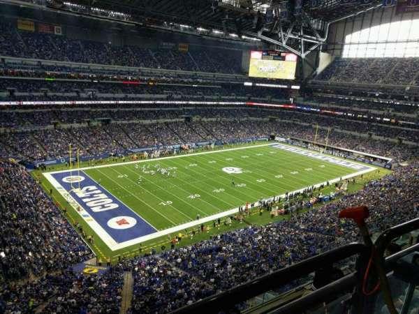Lucas Oil Stadium, secção: 546, fila: 5w, lugar: 5
