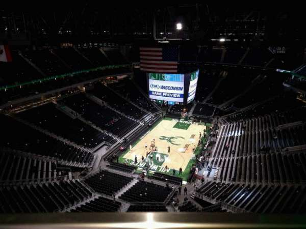 Fiserv Forum, secção: Panorama Club