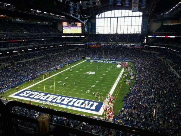 Lucas Oil Stadium, secção: 524, fila: 5w, lugar: 4