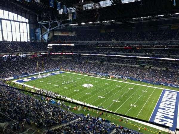 Lucas Oil Stadium, secção: 536, fila: 1, lugar: 2