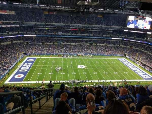 Lucas Oil Stadium, secção: 641, fila: 17, lugar: 24