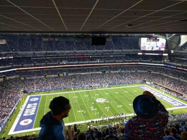 Lucas Oil Stadium, secção: 642, fila: 18, lugar: 22