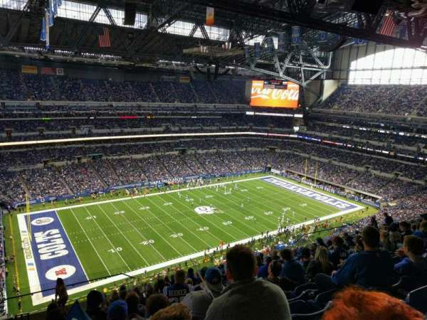 Lucas Oil Stadium, secção: 644, fila: 15, lugar: 24