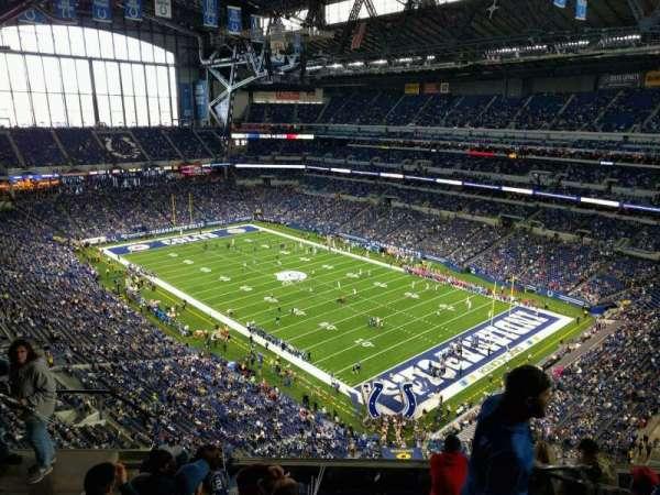 Lucas Oil Stadium, secção: 632, fila: 7, lugar: 19
