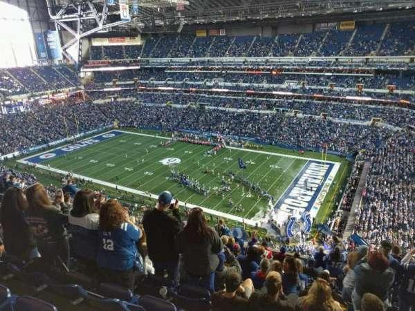 Lucas Oil Stadium, secção: 635, fila: 13, lugar: 10