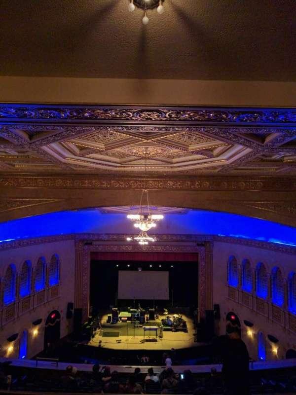 Michigan Theater, secção: balcony center, fila: p, lugar: 107