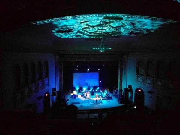 Michigan Theater, secção: balcony l, fila: i, lugar: 1
