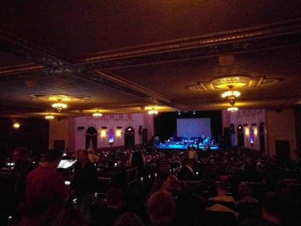 Michigan Theater, secção: orchestra right, fila: kk, lugar: 10
