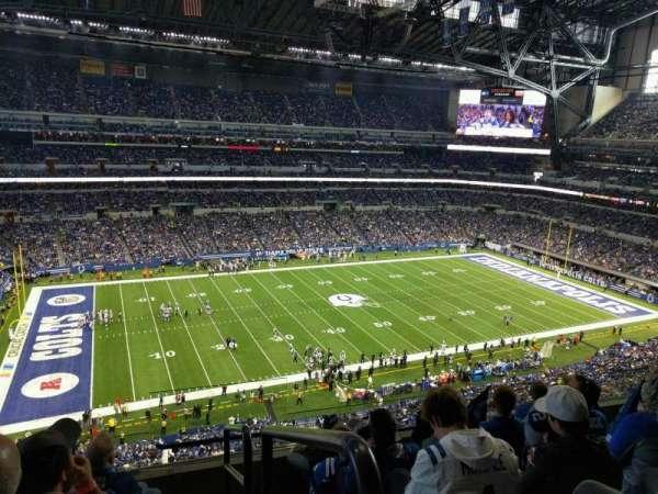 Lucas Oil Stadium, secção: 544, fila: 5, lugar: 24