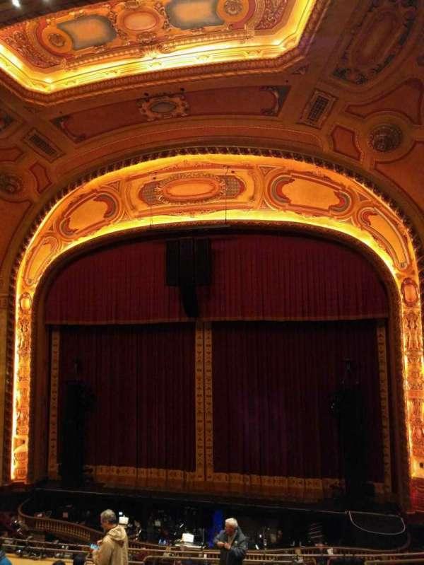 Shea's Buffalo, secção: Balcony 3, fila: f, lugar: 8