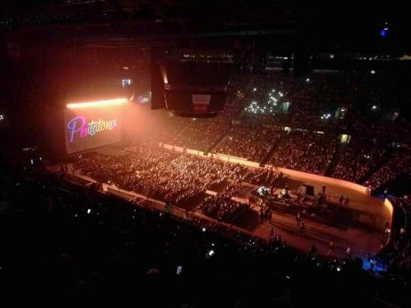 Scotiabank Saddledome, secção: 214, fila: 22, lugar: 23