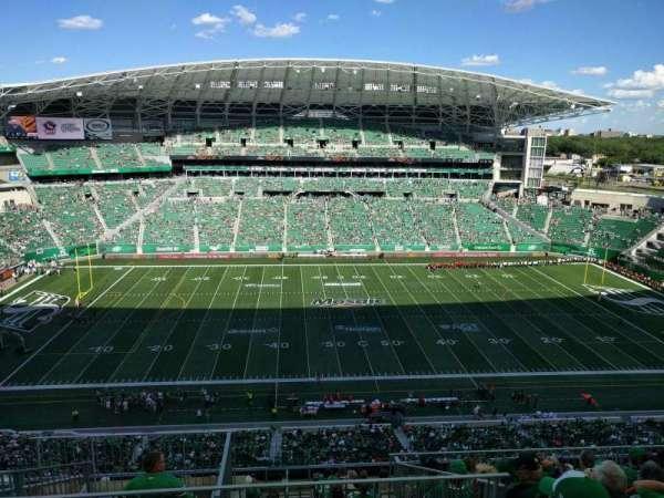 Mosaic Stadium, secção: 615, fila: 20, lugar: 22