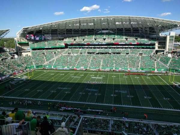 Mosaic Stadium, secção: 613, fila: 18, lugar: 1