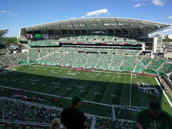 Mosaic Stadium, secção: 611, fila: 16, lugar: 1