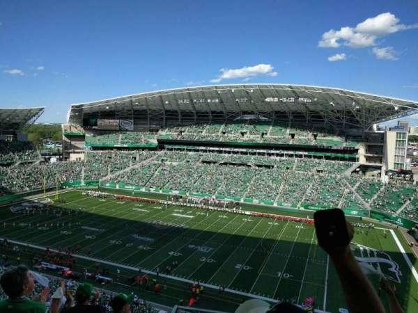 Mosaic Stadium, secção: 610, fila: 17, lugar: 7