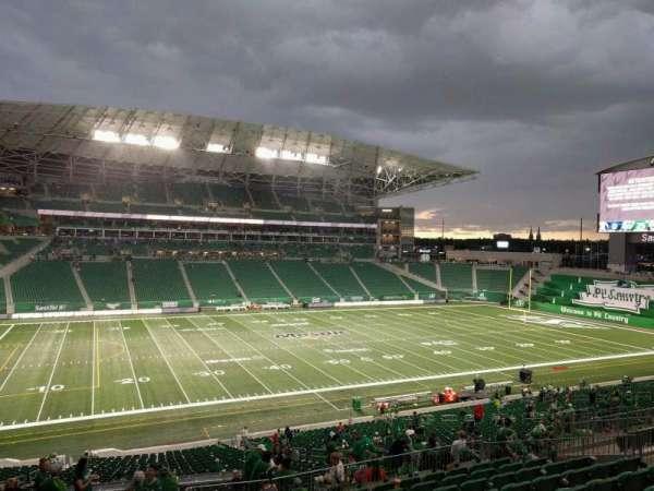 Mosaic Stadium, secção: 319, fila: 18, lugar: 11