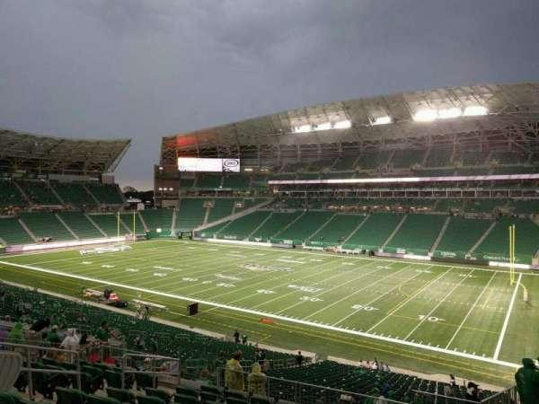 Mosaic Stadium, secção: 308, fila: 10, lugar: 7