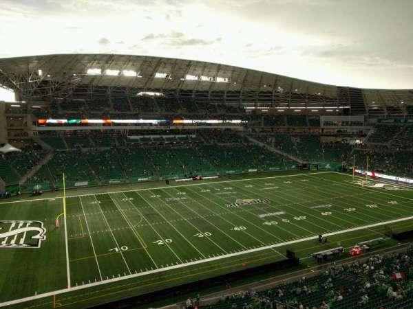 Mosaic Stadium, secção: 542, fila: 1, lugar: 23