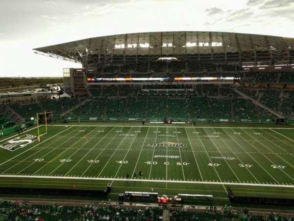 Mosaic Stadium, secção: 639, fila: 8, lugar: 1
