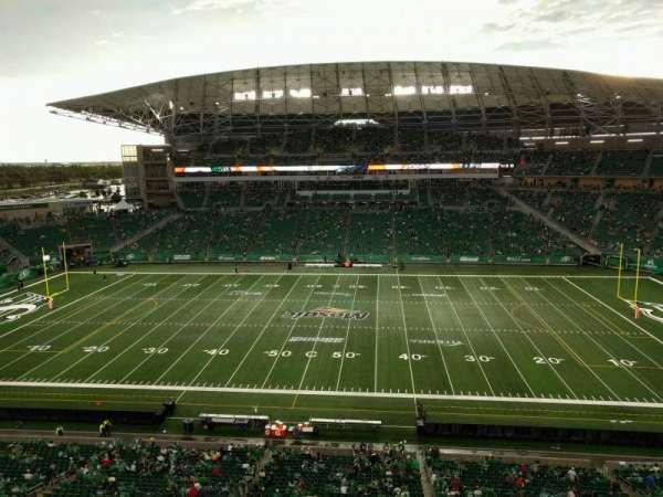 Mosaic Stadium, secção: 538, fila: 10, lugar: 3