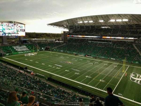 Mosaic Stadium, secção: 533, fila: 12, lugar: 4