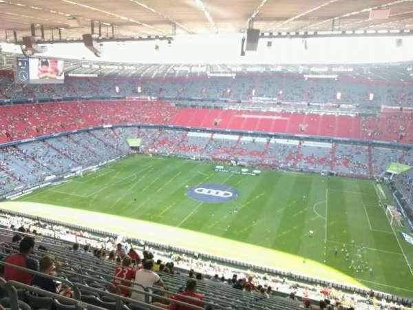 Allianz Arena, secção: 330, fila: 18, lugar: 6