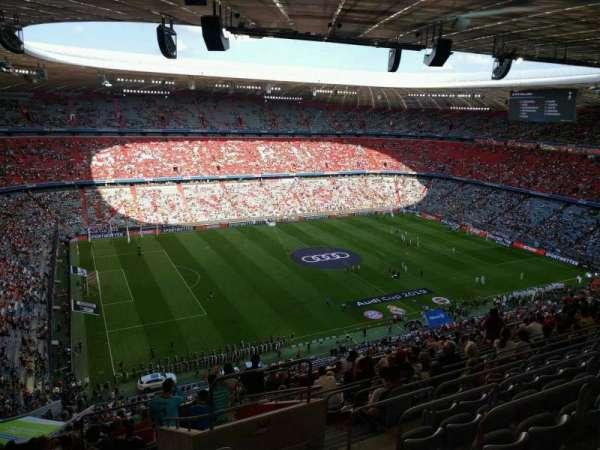 Allianz Arena, secção: 348, fila: 16, lugar: 11