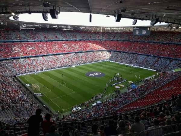 Allianz Arena, secção: 346, fila: 17, lugar: 15