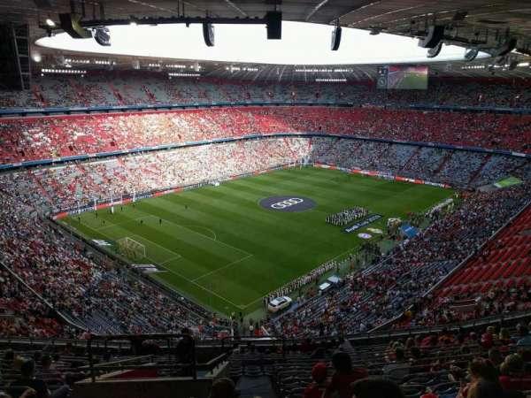 Allianz Arena, secção: 345, fila: 16, lugar: 15