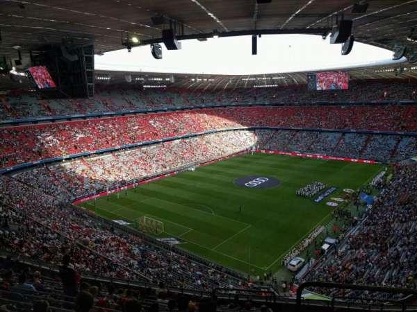 Allianz Arena, secção: 344, fila: 14, lugar: 13