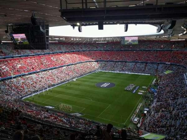 Allianz Arena, secção: 343, fila: 17, lugar: 15