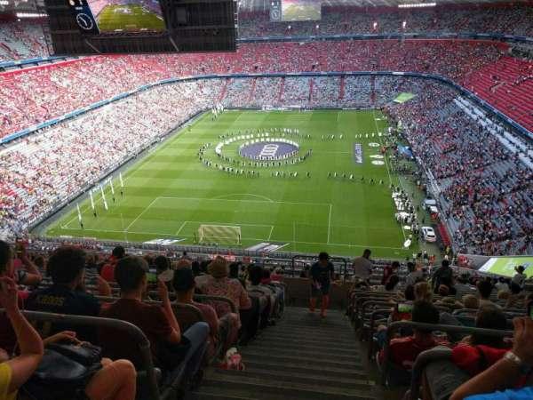 Allianz Arena, secção: 341, fila: 19, lugar: 15