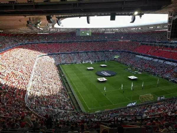 Allianz Arena, secção: 336, fila: 17, lugar: 11