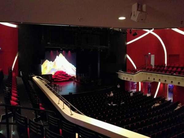 Deutsches Theater, secção: Balkon Flügel Links, fila: 4, lugar: 3