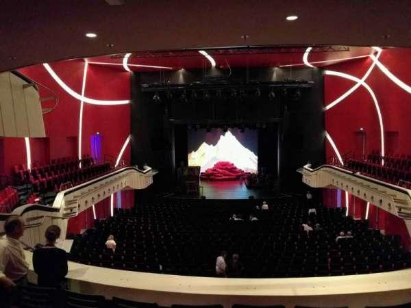 Deutsches Theater, secção: Balkon Mitte, fila: 5, lugar: 8
