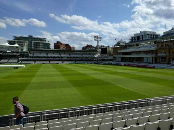 Lord's Cricket Ground, fila: 9, lugar: 38