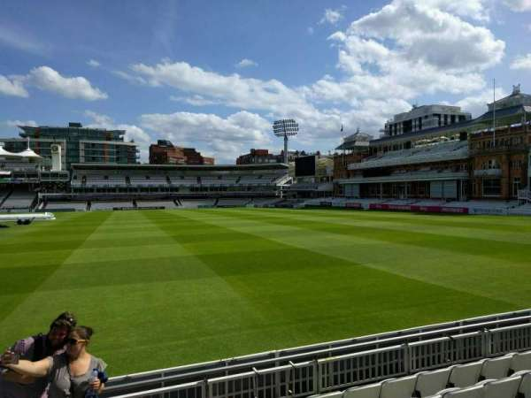 Lord's Cricket Ground, fila: 6, lugar: 38