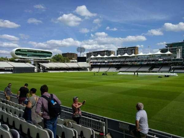 Lord's Cricket Ground, secção: Grandstand A, fila: 6, lugar: 38
